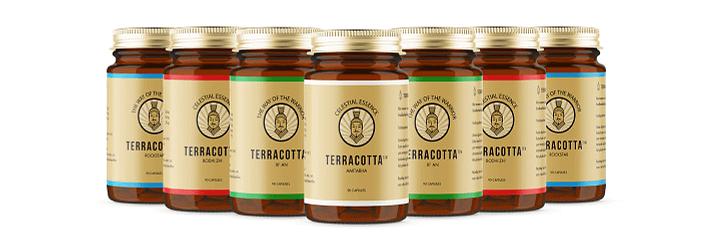 Terracotta capsules